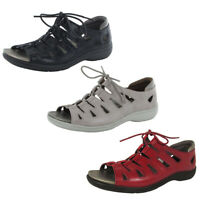 Aravon Womens Bromly Ghillie Sandal Shoes