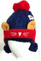 Warm Autumn Winter Baby Girl Boy Kids Soft Cotton Beanie Hat Cap