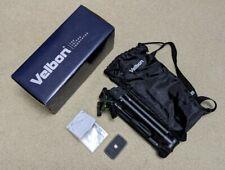 Velbon UT Ultrek 45L Compact Camera Tripod PHD-42Q Pan/Tilt Head QB-62 QR Plate