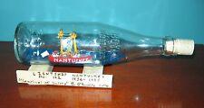 Brendan O'Rourke SIGNED Ship in a Bottle-NANTUCKET LIGHTSHIP- USA Craftsman No.7