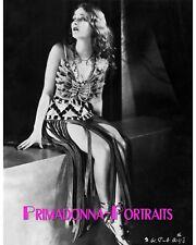 "DOLORES COSTELLO 8X10 Lab Photo B&W 1928 ""NOAH'S ARK"" Sexy PORTRAIT"
