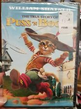 The True Story of Puss N Boots (DVD, 2011) Brand New
