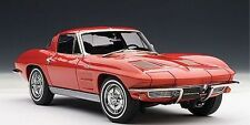 1:18 AUTOART 1963 Chevrolet CORVETTE COUPÉ Red