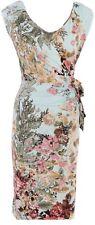 K DESIGN DRESS - FLORAL PRINT - SIZE S (10)