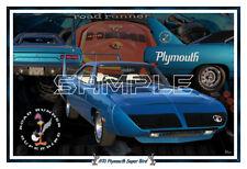 1970 Plymouth Road Runner Super Bird Poster Print