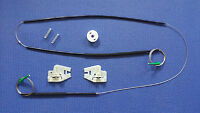 2x BMW E46 WINDOW REGULATOR REPAIR KIT FRONT LEFT AND RIGHT O/S N/S