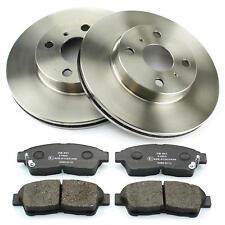 Bremsscheiben + Bremsbeläge vorne 255mm belüftet Toyota Corolla E10 E11 BJ 92-01