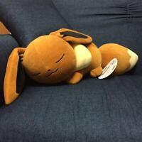 Pokemon Center Original Plush Dolls soundly sleeping Eevee suya suya kawaii