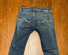 Rare Diesel Zaf 87P_Stretch Regular Flared Bootcut Medium Wash Jeans 34/34 Italy
