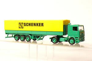 Herpa Schenker DAF 95 Semi-Remorque en Emballage D'Origine