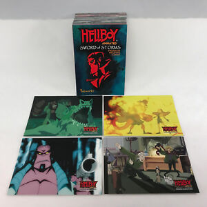 "HELLBOY ANIMATED ""SWORD OF STORMS"" (Inkworks/2007) Complete Trading Card Set"