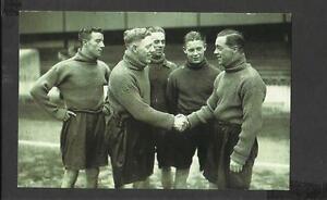 Nostalgia Postcard Record Fee Willie Hall Greeting John Duncan to Tottenham-1935