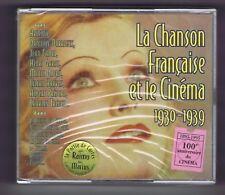 LA CHANSON FRANCAISE & LE CINEMA BOX 2 CDs (NEUF) ARLETTY D.DARRIEUX GABIN
