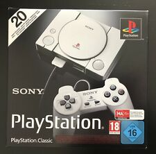 SONY PLAY STATION CLASSIC MINI Console HDMI + 20 Games PS1 PSX metal gear tekken