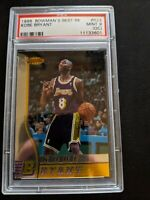 1996 Bowmans BEST KOBE BRYANT ROOKIE RC #R23 PSA 9 (OC) MINT Lakers Most Wanted