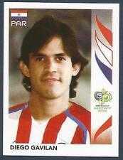 PANINI FIFA WORLD CUP-GERMANY 2006- #124-PARAGUAY-DIEGO GAVILAN