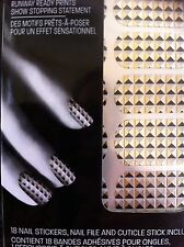 MAYBELLINE Color Show #40 Metal Prisms Fashion prints 18 Nail Stickers