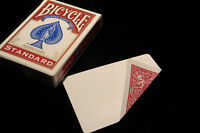 BACK & BLANK Bicycle Deck - red or blue Gaff Playing Cards Magic Trick