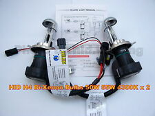 55W 50W HID H4 9003 HB2 Bi-Xenon Hi Lo Low bulbs 4300K light beam H/L