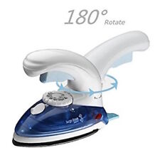 Foldable Compact Travel Iron Steam Mains Dual Voltage Easy Glide Small Y36