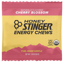 Honey Stinger Organic Energy Chews, Cherry Blossom 24 Count FREE SHIP