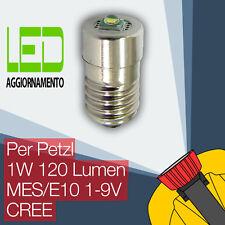 Petzl LED Aggiornamento/Conversione lampadina lampade frontali Zoom Duo E10 CREE