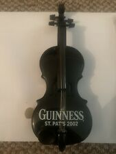 More details for rare guinness st patrick's day 2002 promotional violin  - brand new and unused