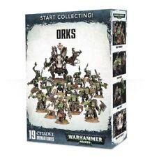 Start Collecting! Orks - Warhammer 40K - Brand New! 70-50