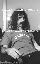Frank Zappa in Hamburg 1968 seltenes 30x45cm Foto Poster