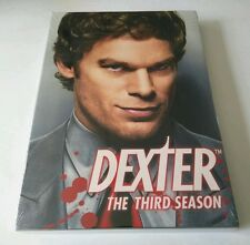 "Dexter - The Complete Third Season (DVD, 2009) *SHOWTIME SERIES*  ""NEW"""