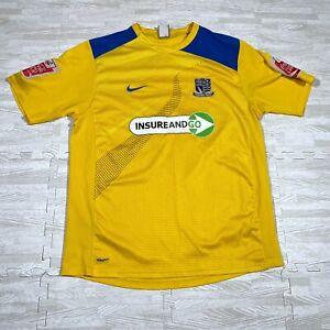 Nike Southend United Third Shirt L Coca Cola Football League Clarke 5 2006 07