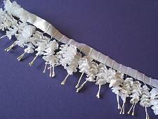 8016 Flower cascades white 1+ box Close Out Sale Lot bridal