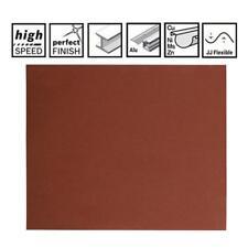 Bosch Feuilles Abrasives J475 230x280mm K60 2608608C06 de 50 Ve Papier de Verre