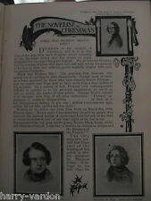 Charles Dickens What Was He Really Like Victorian Rare Old Antique 1899 Article