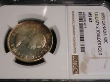 1953 CANADA  50 CENTS NGC