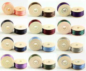 BeadSmith® 1 piece Nymo Nylon Bobbins Thread Stringing Material * Many Colors