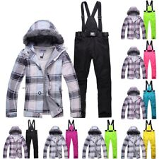 Ski Suit Set Jacket and Pants Women Outdoor Snow Skiing Snowboarding Clothing
