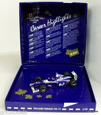 MINICHAMPS 1/43 - 516 974303 WILLIAMS FW 19 J. VILLENEUVE WC 1997 DIECAST MODEL