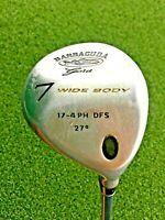 Barracuda Gold Wide Body 7 Wood 27* / RH / Regular Graphite / Nice Grip / gw2358