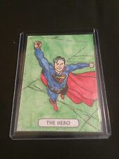 JUSTICE LEAGUE CRYPTOZOIC SUPERMAN TAROT SKETCH BY ?