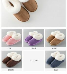 Women Slippers Winter Cotton Sheep Lovers Warm Indoor Slipper Many Sizes Flat