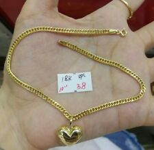 GoldNMore: 18K Gold Anklet