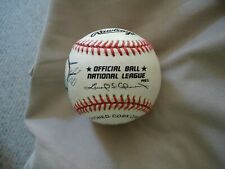 New Listing Signed 2 Autographs Baseball Tommy Holmes , Boston Braves, , National League