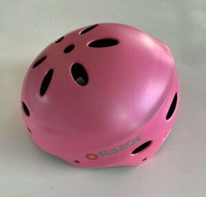 NEW! Razor Girl's Sz M Magenta Pink Bicycle Bike Skateboard Multi-Sports Helmet