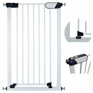 Callowesse® Saluki Tall & Narrow Baby Stair Gate / Pet Gate 65-70cm (96cm High)