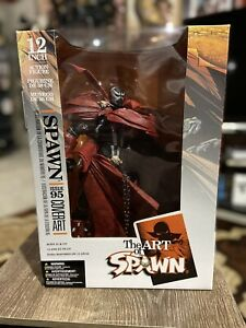 McFarlane Spawn 12 Inch Issue 95 Cover Art PERFECT Factory Sealed ADULT OWNED