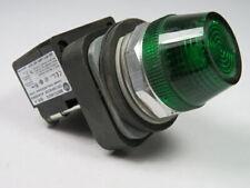 Allen-Bradley 800TC-QH2G Universal LED Pilot Light 12-130V Green Lens ! WOW !