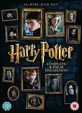 HARRY POTTER COMPLETE DVD BOX SET FILMS 1-8 NEW SEALED 1 2 3 4 5 6 7 8