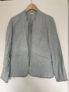 Poetry Mint Linen Blazer Size 12