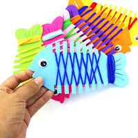 DIY Fish String Line Winding Toy Handmade Educational Kids Children Toys HT